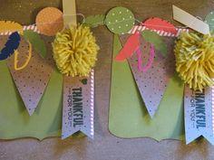 Thankful Banner | Denise Foor Studio PA  October 2014 My Paper Pumpkin Stampin' Up!
