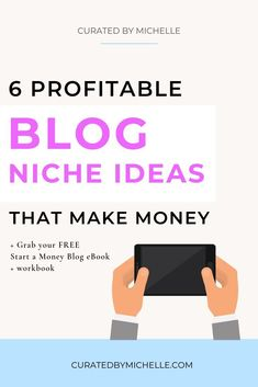 Even though I am 100% convinced that you can make money blogging off any niche, there comes a point where your effort does not correlate to what you're actually making. Click through for the ultimate run down of the top 6 most profitable blog niches and s
