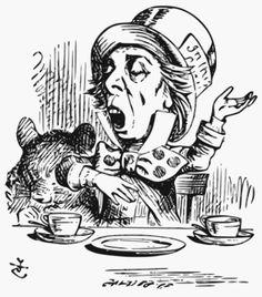 MadlHatterByTenniel - Chapelier fou (Alice au pays des merveilles) — Wikipédia