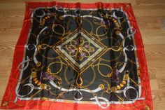 """Beautiful Ladies Scarf~36"""" X36""""~FREE SHIPPING!  FREE GIFT!  POLYESTER WITH A SILK FEEL."""