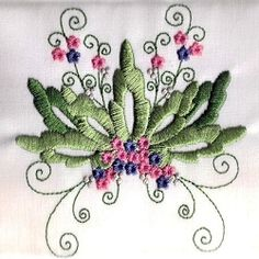 Heirloom Floral 3 - 4x4 | What's New | Machine Embroidery Designs | SWAKembroidery.com Young at Heart Embroidery