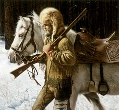 """""""Free Trapper"""" by Don Stivers 