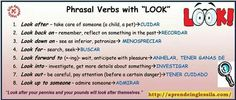 "Phrasal verb ""look"""