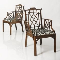 Chinoiserie - Chinese Chippendale Chairs. My Dream Chairs.