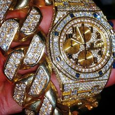 Mens Fully Iced Out Lab Diamond Rolex Yatchmaster 2 Ii