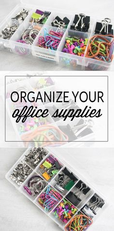 Office Supplies Use the Konmari Method: Sort Keep or toss? Figure out the storage solution.Use the Konmari Method: Sort Keep or toss? Figure out the storage solution. Office Desk Organization, Office Storage, Organization Hacks, Organizing Office Supplies, Office Table, Organized Office, Cool Office Supplies, Car Office, Closet Office
