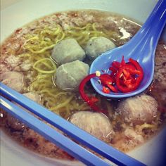 Bak Chor Mee (Minced Pork noodle) @ bedok 85