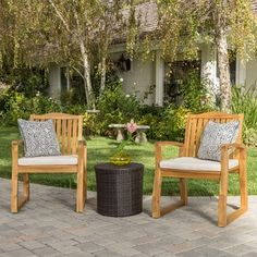 Carolina 4 Piece Outdoor Acacia Sofa Set By Christopher Knight Home
