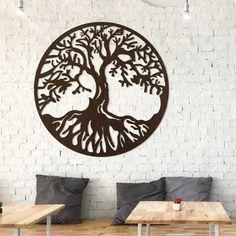 Drevený obraz strom života - Chokmah | DUBLEZ Design, Home Decor, Decoration Home, Room Decor, Home Interior Design, Home Decoration, Interior Design