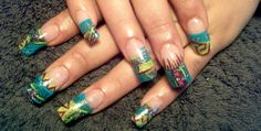 Hand Painted Nail Art Designs