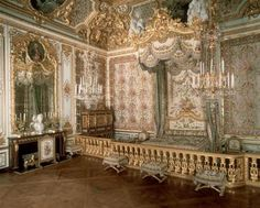 Marie Antoinette's official bedchamber in Versailles Palace