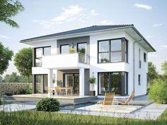 Haus CityLife 600 • Ausbauhaus von WeberHaus • Energieeffizientes Fertighaus mit offener Küche, optionalem Erkeranbau und Zeltdach • Jetzt bei Musterhaus.net Haus-Kataloge kostenlos anfordern!