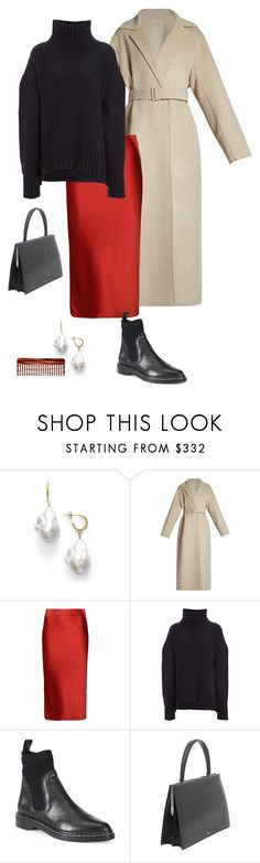 """""""NY Fashion Week"""" by deborarosa ❤ liked on Polyvore featuring The Row, T By Alexander Wang, Joseph and Mason Pearson"""