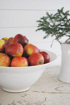 Christmas apples. From Julias Vita Drömmar