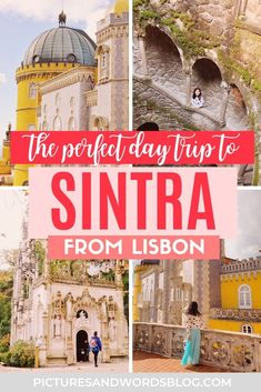 Planning a Fairytale Lisbon to Sintra Day Trip | The Perect One Day in Sintra Itinerary: A visit to the fairytale town of Sintra is one of the most popular Lisbon day trips and a must on any Portugal bucket list! Here is everything you need to know about spending the perfect one day in Sintra, including the perfect Sintra itinerary, and tips on how to get from Lisbon to Sintra. Portugal Trip, Portugal Travel Guide, Travel Guides, Travel Tips, Stuff To Do, Things To Do, Day Trips From Lisbon, Top Destinations, Need To Know