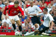 CR7's first game for Manchester United