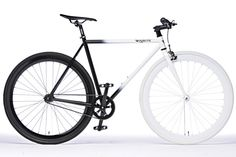 Fixie: Black and White Fade | Pure Fix Cycles