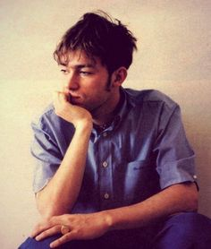 "Damon Albarn (Lead singer of Virtual band ""Gorillaz"" and ""Blur"") <3"