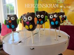 Owlparty, Eulenparty Cakepops