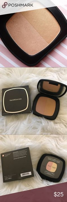 NEW Bare Minerals Ready Luminizer Highlighter Bare Minerals / Bare Escentuals / bareMinerals Ready Luminizer Highlighting Duo . The Love Affair is a pink highlighter and The Shining Moment is a gold highlighter. Discontinued and hard AF to find. New in box! #bare #minerals #escentuals #bareminerals #sephora #ulta #beauty #cosmetics #makeup #the #love #affair #pink #rose #highlighter #shining #moment #gold #highlighter #glow #ready #luminizer #compact #fullsize Bare Escentuals Makeup…