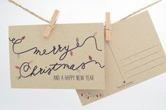 He encontrado este interesante anuncio de Etsy en https://www.etsy.com/es/listing/115521925/christmas-postcards-christmas-postcard