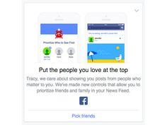 New Facebook Newsfeed Feature: Put The People You Love At The Top