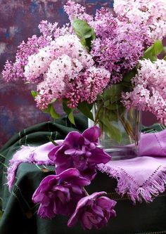 lilacs...