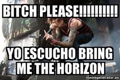 Resultado de imagen para memes de bmth en español