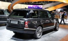 new 2015 range rover black and silver | 2014 Land Rover Range Rover Autobiography Black Edition
