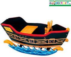 pirate ship rocking ship toy