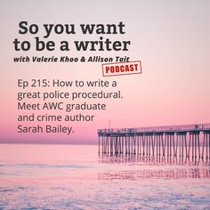 In Episode 215 ofSo you want to be a writer:Discover how to write a great police procedural and why even new writers need author bios. We send out freela