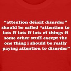 A.D.D. SHOULD BE CALLED... - men's | Jomadado - Funny ADHD T-shirts & Attention Deficit Disorder Gifts for Adults & Kids. GO ADD!