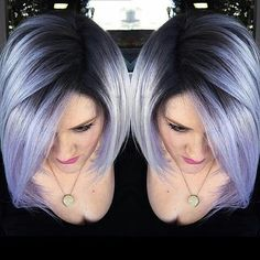 25 Color For Short Hair - Hair Styles 2019 Onbre Hair, Hair Dos, Hair Color And Cut, Haircut And Color, Unique Hair Color, Short Hair Cuts, Short Hair Styles, Pixie Styles, Pastel Hair