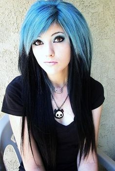Leda Monster Bunny; Septum piercing; butterfly makeup