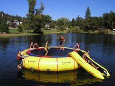 Island Hopper Giant Jump 25 Foot Water Trampoline- $4500
