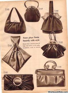 51 new ideas for vintage retro style fashion 40s Mode, Retro Mode, Mode Vintage, Style Vintage, 1940s Style, Retro Style, Handbags On Sale, Luxury Handbags, Fashion Handbags