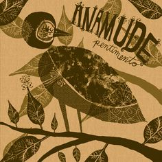 Anamude - Pentimento by Nate Williams Illustration and Hand Lettering
