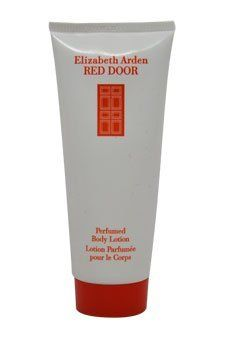 RED DOOR by Elizabeth Arden Body Lotion 3.3 oz for Women by Elizabeth Arden. $9.09. Bath & Body. Image shown above may not be true representation. See product description! (Below). WOMEN. RED DOOR by Elizabeth Arden Body Lotion 3.3 oz for Women Launched by the design house of Elizabeth Arden in 1989, RED DOOR is classified as a luxurious, flowery fragrance. This feminine scent possesses a blend of red rose, violet, jasmine, lily of the valley, and orchid. Accomp...