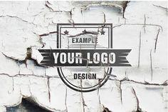 Logo on Grunge Wall Effect Template | ShareTemplates