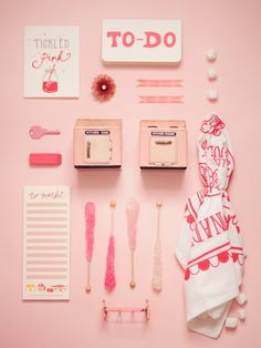 pink things knolled