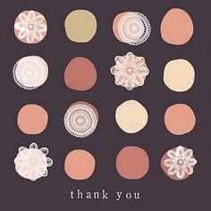 cupcake inspired thank you notes Typography, Lettering, Thank You Notes, Polka Dots, Poster, Graphic Design, Pretty, Illustrations, Inspiration