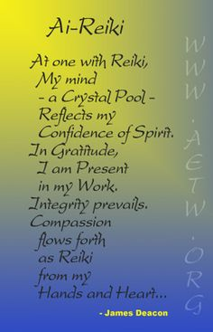 Reiki Healing Quotes Kindly look around my Facebook page for great Reiki specific videos, short articles together with infographics. It really would be wonderful if you would like the page whilst you are there. Namaste https://www.facebook.com/reikiintent
