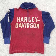 Vintage Harley Davidson Racing Jersey Shirt 2
