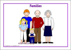 Families posters (SB4765) - SparkleBox