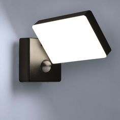 7W LED Außenleuchte Wandleuchte LED Außenwandlampe Schwarz Gartenleuchte IP65