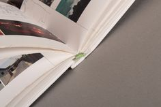 hard cover binding detail/ MArc II Aaltos University