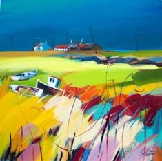 Ashore by Scottish Contemporary Artist Pam CARTER