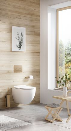 Find design inspiration for your mindful bathroom design. Opt for a blend of soft-woods, subtle warm gold taps and accessories for a peaceful environment. Bathroom Wall Colors, Warm Bathroom, Neutral Bathroom, Modern Bathroom, Bathroom Trends, Bathroom Ideas, Rustic Bathrooms, Bathroom Flooring, Wood Colors