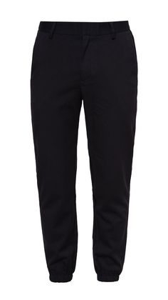 Black Slim Fit Joggers by Zalora. Jogger pants with black color, this slim fit jogger has an elastic leg cuff and made from good material, features front button, and zipper, front and back pocket, belt loops, perfect pants for casual style. http://zocko.it/PD0W