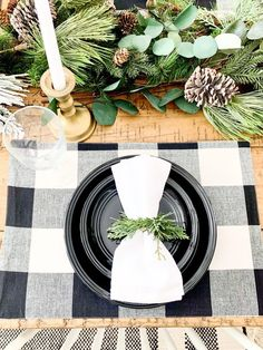 Luckily for you, our best DIY Christmas table decorations ideas are so gorgeous, they double as conversation starters that are sure to spark some special moments between your guests.#christmastabledecorationideas #christmasdecorations #christmastablesetting #christmastabledecor #diychristmastablesettings #christmastablesettingsideas #99inspire Table Garland, Diy Garland, Diy Wreath, Garlands, Christmas Table Settings, Christmas Tablescapes, Christmas Table Decorations, Holiday Decor, Diy Christmas Garland